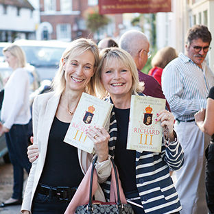 Ladies with Theatre Programmes in Henley