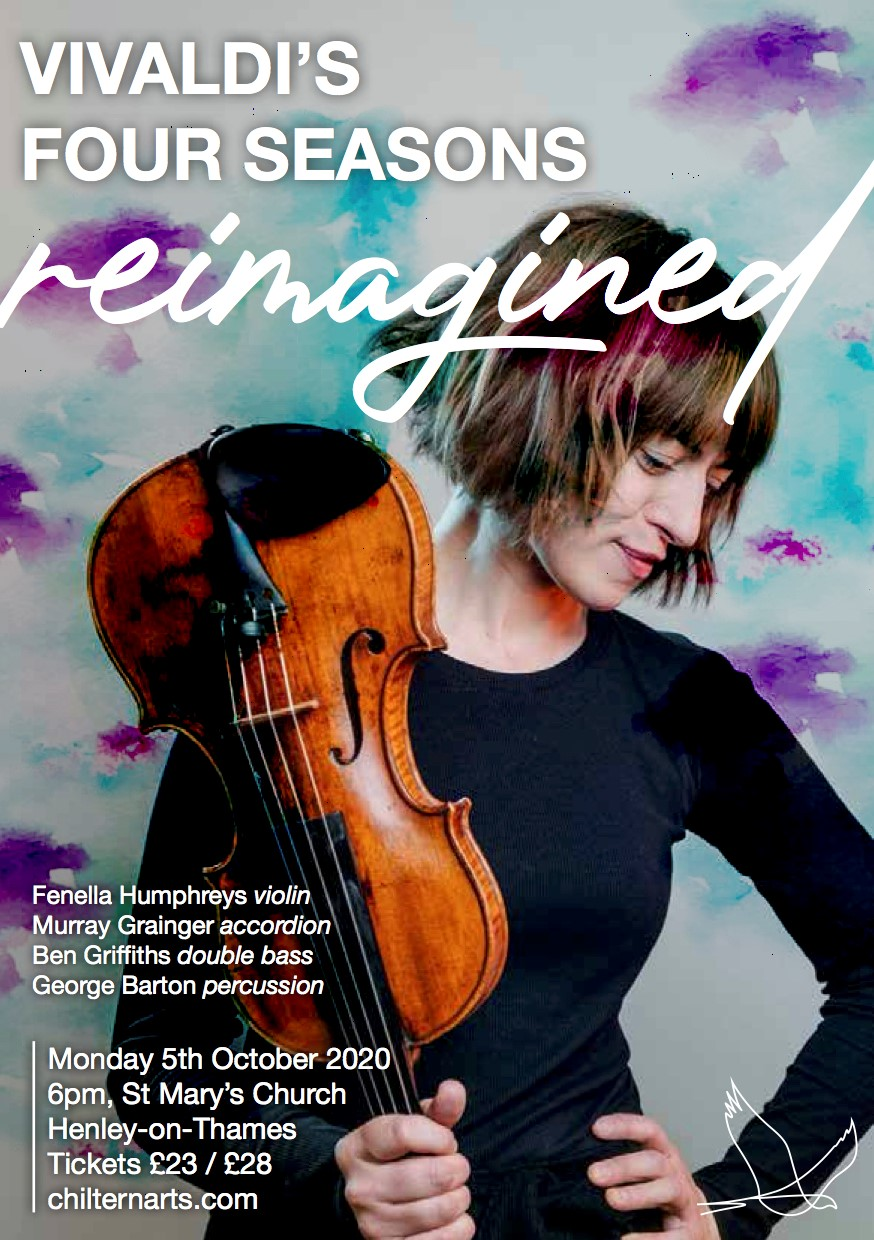 Vivaldi Four Seasons Reimagined: Fenella Humphreys & Friends