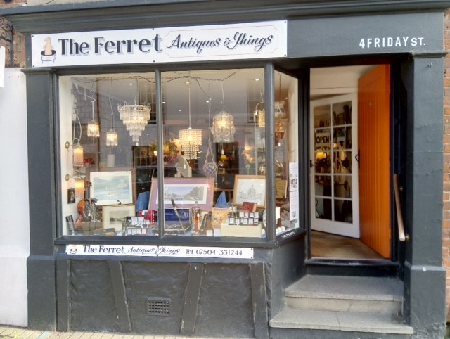 The Ferret - Antiques and Interesting things
